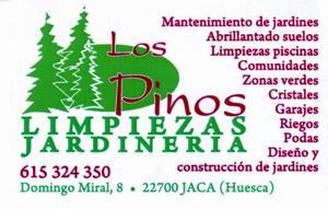 Jardines y limpiezas los pinos jardineros jaca asociados for Capillas de velacion jardin de los pinos