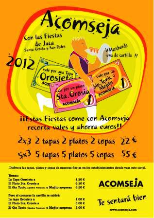Cartilla Fiestas 2012